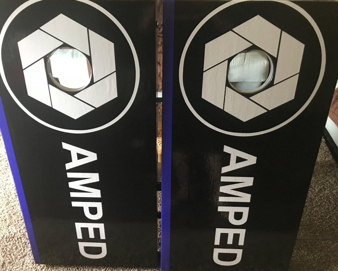Amped Cornhole Boards