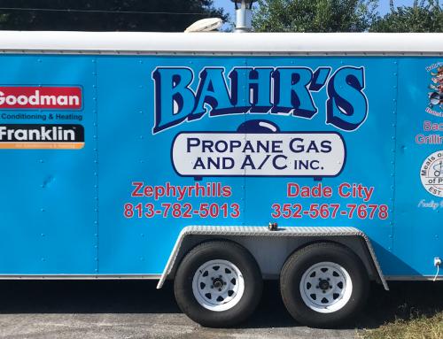 Bahr's Propane Gas & AC Trailer