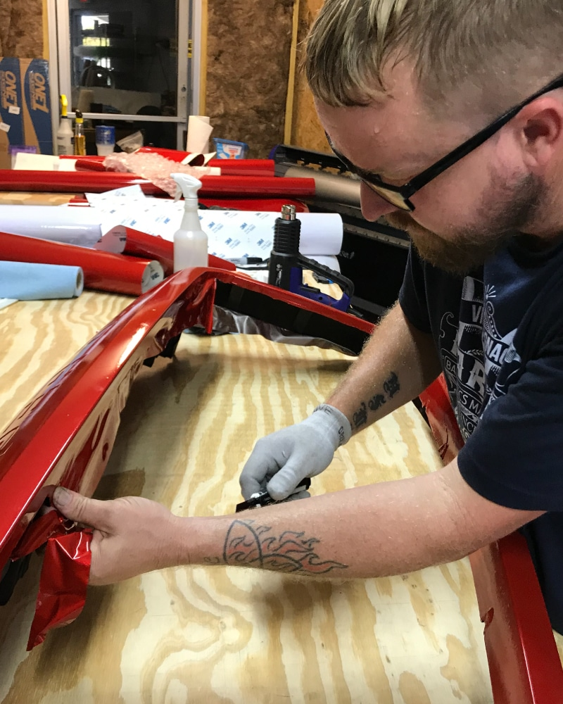 Eric Farrar Wrapping Parts