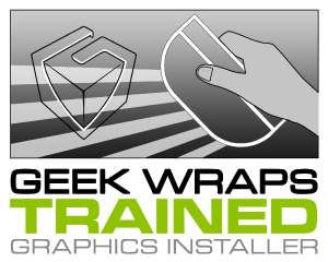 Geek Wraps Trained Graphic Installer