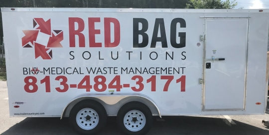 Red Bag Solutions Trailer